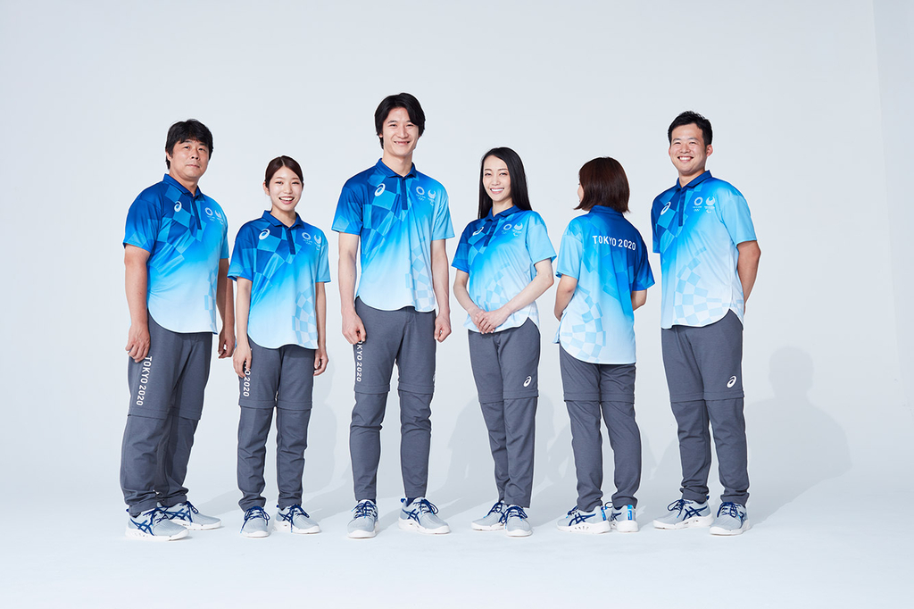 Tokyo Olympics volunteers' uniforms unveiled - The Asian ...